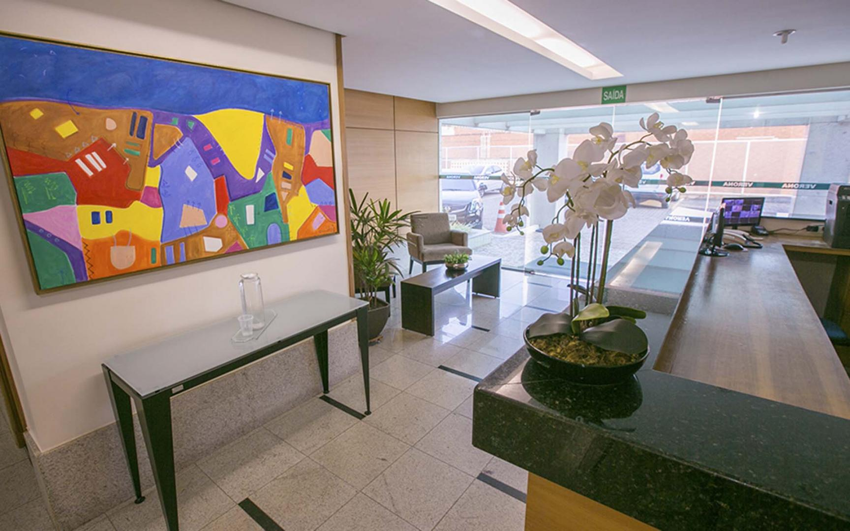 LOCAÇÃO TRIMESTRAL (03 MESES), NO HOTEL VERONA, DE 30m², Á R$ 1.300,00!