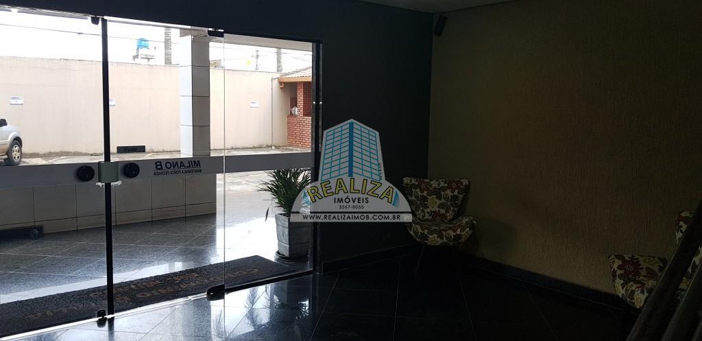 QS 07 Rua 800, Condomínio Fechado Milano e Torino, Excelente apartamento semi vazado de 03 quartos