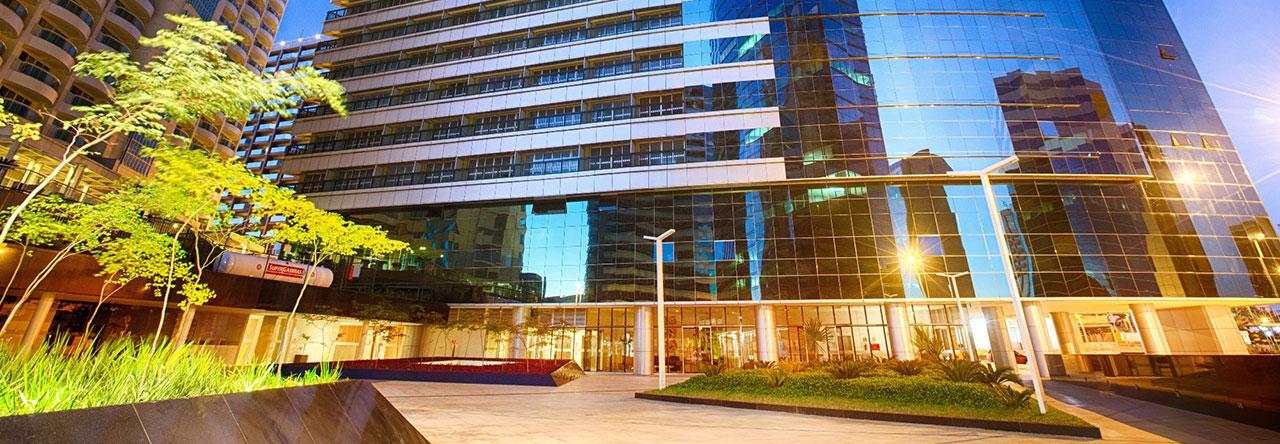 FLAT MOBILIADO ED.FUSION 27m² ASA NORTE, BRASÍLIA-DF