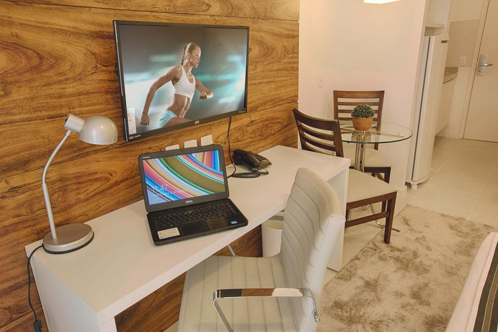 LOCAÇÃO TRIMESTRAL (03 MESES), NO HOTEL VISION 27m² R$2.400,00!