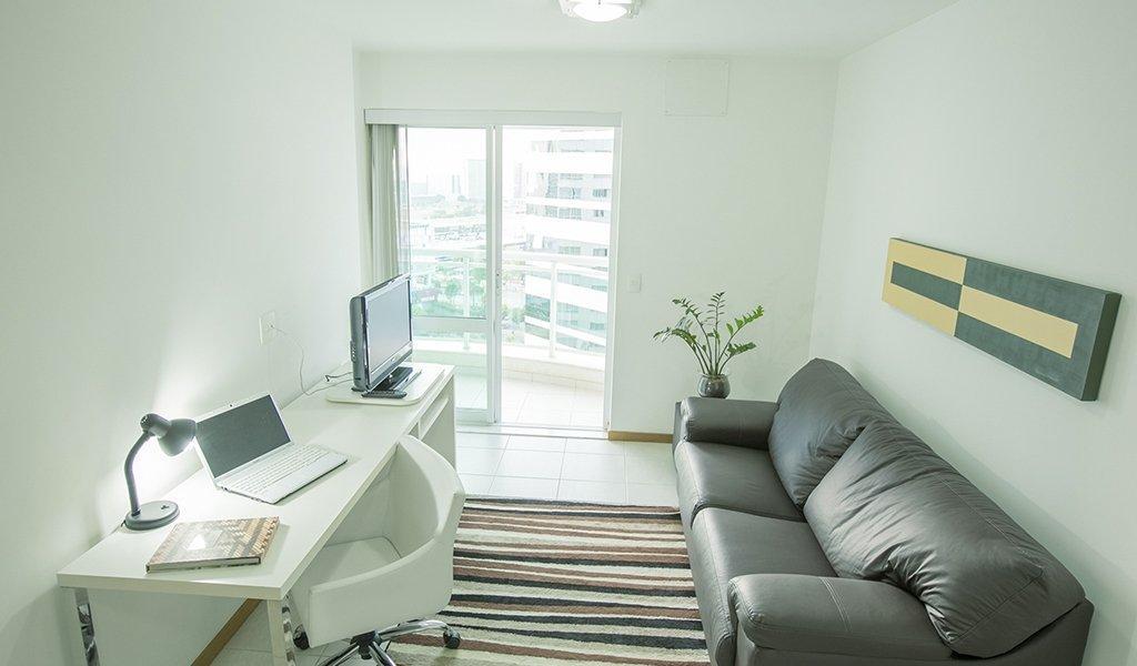 LOCAÇÃO TRIMESTRAL (03 MESES) NO HOTEL BIARRITZ 44m² R$ 3.300,00!