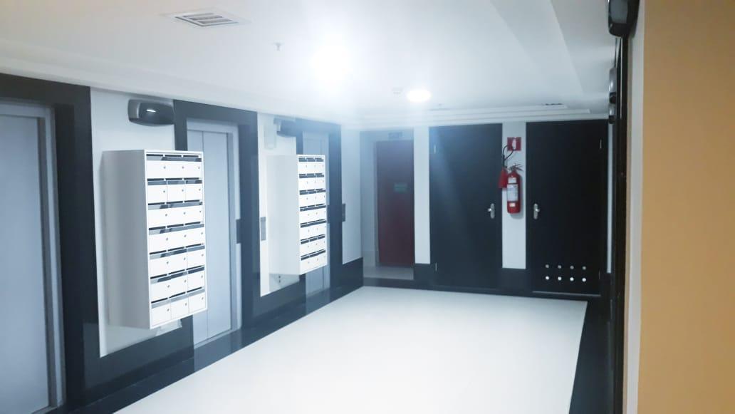 Alugo sala mobiliada, vaga, 27m², andar alto, nascente, Setor de Autarquias Sul, Asa Sul, Brasília DF