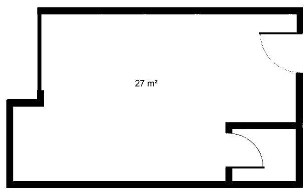 Alugo sala, 27m², Vaga, Setor de Autarquias Sul-DF