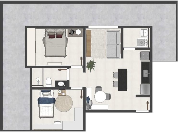 Vendo ótimos apartamentos, a partir de R$ 170.000,00 , vaga, Setor Mandú, Luziânia - GO