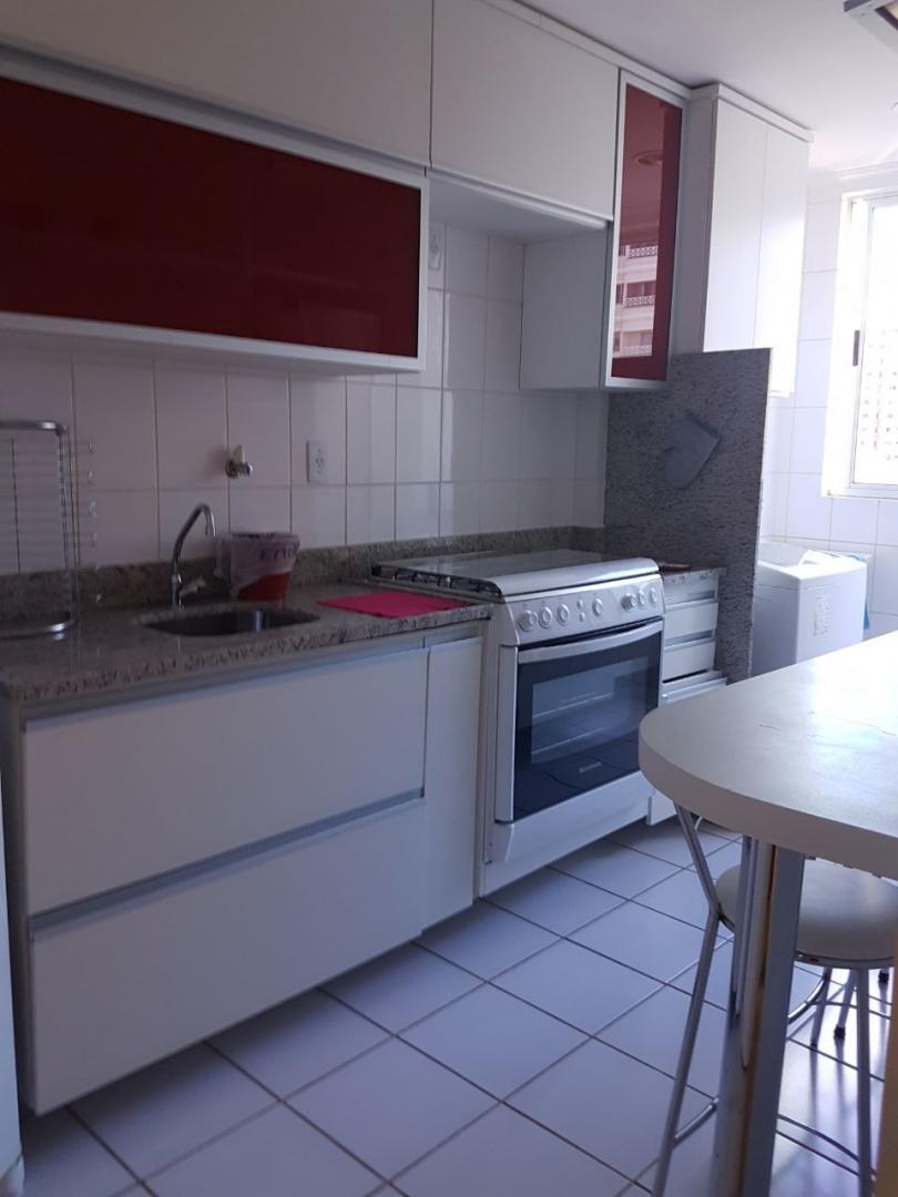 Apartamento Mobiliado, Residencial Eliane Fleury, Águas Claras, Brasília/DF.
